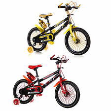 "18"" BMX Bike Outdoor Riding Toys With Safe Riding Gear ,Red ,Yellow Choose"