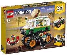 Lego Creator Monster Burger Truck (31104)