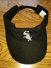 Chicago White Sox MLB Baseball Hooters Promotional Promo Black Visor Hat Cap