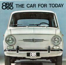 Fiat 850 Brochure