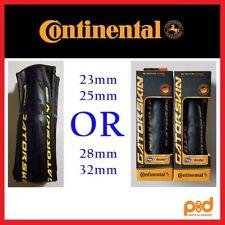 NEW 1 OR 2 PACK Continental Gatorskin 700 x 23 25 28 32 Road Bike Folding Tires