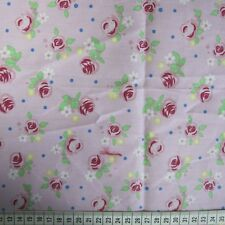 0.5 metre Rose - Pink 100% Cotton Fabric 147cm wide