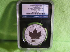 2015  CANADIAN E=MC2 PRIVY MAPLE LEAF PF 69 FIRST RELEASES 1 OZ. SILVER