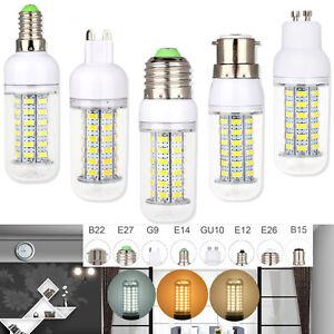 Led Bulbs Daylight E27 E26 B22 E14 G9 5730 SMD Corn Light Bulb Save Energy Lamp