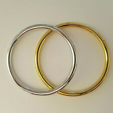 NEW Solid 316L Surgical Stainless Steel Ladies Golf Bangles Beautiful Finishes