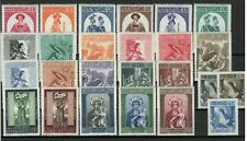 s33479 VATICANO MNH 1956 Complete Year set 25v