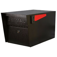 Mail Boss 7506 Mail Manager Locking Security Mailbox, Black New