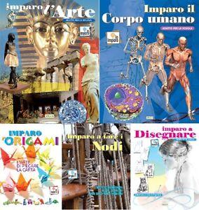 Lotto 5 libri NUOVI - Pacchetto IO IMPARO - raccolta stock libri