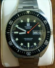 Vintage Tissot Navigator Automatic Dive Watch in Fantastic Condition!