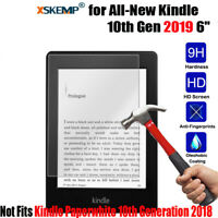 """Genuine Tempered Glass Screen Protector film for All-New Kindle 10th Gen 2019 6"""""""