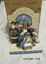 Jim Shore 2020 Victorian Nativity Scene Figurine New In Box
