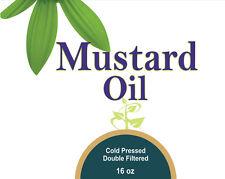 Mustard Oil (Massage oil for hair & body)16 Oz