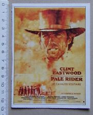 fiche cinéma première : Pale Rider le Cavalier Solitaire - Clint Eastwood