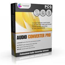 Audio Music Convert Converter Conversion Professional Software Cd-rom