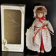 Vintage 1985 Gorham Doll Of The Month December Doll-Vt717