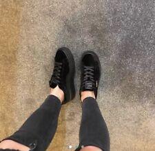 Puma Fenty Size 6 Black Suede Rhianna Trainers/Creepers