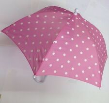 KIDS CHILDRENS UMBRELLA BROLLY cosy cottage pink red hearts blue stars brolly