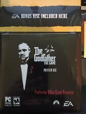 The Godfather DVD Collection Bonus Disc Video game inlcuded FREE SHIPPING