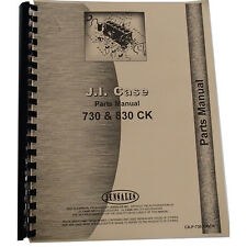 New Case 830 Tractor Parts Manual