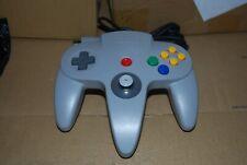 Manette Nintendo 64 Grise Officiel Fonctionne Stick OK
