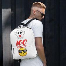 Funny Cool Emoji Back To School Backpack, Books Backpack, Humor, School Supplies
