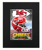"Kansas City Chiefs Logo  NFL poster 22.5 x 34/"""