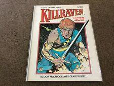 vintage Marvel Graphic Novel NM - KILLRAVEN WARRIOR OF THE WORLDS