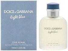 LIGHT BLUE by DOLCE & GABBANA 4.2oz Men's Cologne Spray Eau De Toilette *SEALED*