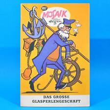 Mosaik 187 Digedags Hannes Hegen Originalheft | DDR | Sammlung original MZ 12