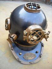 Nautical Deep sea Maritime Antique Mark V Home decor Diving Helmets