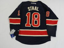 MARC STAAL SIGNED NEW YORK RANGERS HERITAGE ANNIVERSARY JERSEY PROOF JSA COA