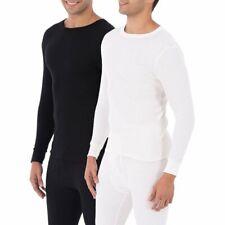 Mens Fruit of the Loom Thermal Underwear Size Large White Pajamas Sleepwear