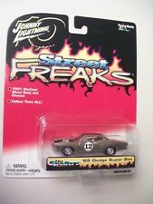 Johnny Lightning 1:64 scale 1969 Dodge Super Bee, Street Freaks series, Silver