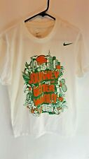 Nike x Texas Sports Vintage Fight For A Better World T Shirt Mens Size Small