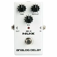 NUX AD3 Pedale effetti per chitarra Effetto delay analogico Low Noise BBD D T5N3