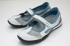 ECCO 7 7.5 Blue Mary Jane Sneaker Women's EU 38