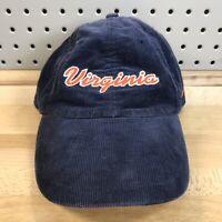 Women's University Of Virginia Cavaliers Nike Team Corduroy Navy Blue Hat Cap