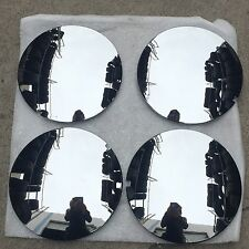 Set of 4 Brand New 1988-1992 Jaguar XJ6 CHROME CENTER CAPS 59672