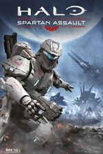 HALO Poster - Video Game Master Chief Full Size Print ~ Spartan Assault