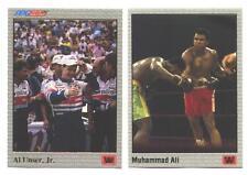 1991 AW BOXING MUHAMMAD ALI AL UNSER JR GOLD PROMO JOE FRAZIER 1971 INDY RACING