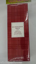 BURBERRY BRIT RED BODY LOTION FOR WOMEN 5 OZ / 5.0 OZ / 5.1 OZ NEW IN BOX
