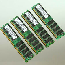 NEW 4GB 4x 1GB PC3200 Low-Density DDR400 400Mhz DIMM Desktop Memory 64Mx8 CL3