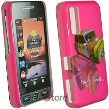 Cover Custodia Per Samsung Star WiFi S5230 Paul Smith Mini  Fucsia  + Pellicola