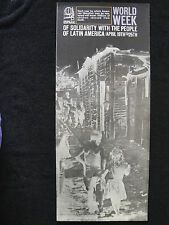 OSPAAAL Political Poster Latin America World Week of Solidarity 1969 English