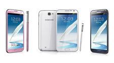 """5.5"""" Samsung Galaxy Note2 GT-N7100 16GB 8MP GPS débloqué Téléphone Blanc"""