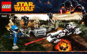 lego star wars 75037 Battle on Saleucami -100% Complete