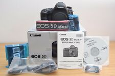 * Nuovo di zecca * Canon EOS 5D Mark - 52 IV ISTRUZIONI-GARANZIA di 6 mesi - 4 Mark