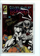 Dark #1 Red Foil Signed Continum Comics nm/mint 1993 H6