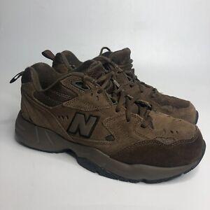 New Balance 608 Mens Size 9 4E Brown Suede MX608ODB Walking Comfort Hiking
