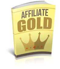 AffilIate Marketing Gold Pdf Ebook with Master Resell Rights + Free Shipping